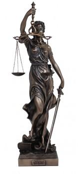 Socha Goddes Justice
