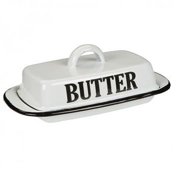 Smaltovaná máselnička