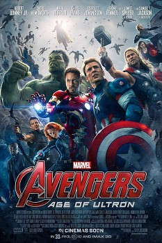 Plakát The Avengers, Age of Ultrron, Marvel, 51,5 x 36 cm