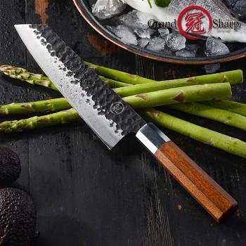 """Nůž Kiritsuke 8"""" GRAND SHARP vysoce uhlíková ocel"""