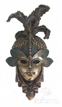 Benátská maska VÁŽKA