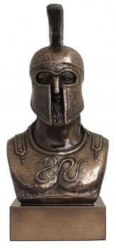 Busta spartského válečníka