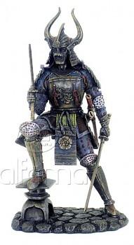 Samurai s katanou