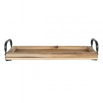 Dřevěný podnos 41*14*7 cm