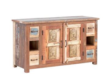 Koupelnový set Sumana z recyklovaného dřeva