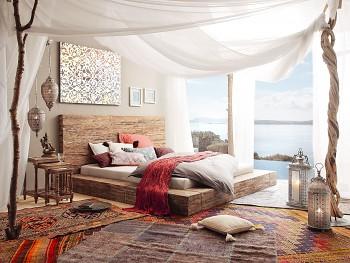 Madeira dřevěná postel