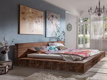 Tobago dřevěná postel