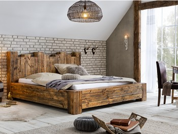 Kingsburgh dřevěná postel