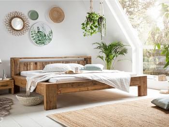 Scottburgh dřevěná postel