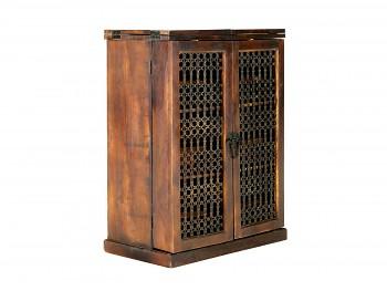 Skříň na víno z růžového Palisandru Nimue
