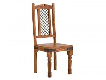 Sada 2 židlí z růžového Palisandru Nimue II