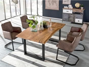 Jídelní stůl se 4 židlemi Halmahera