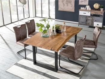 Jídelní stůl se 4 židlemi Siberut