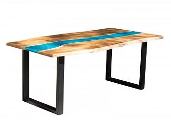 Jídelní stůl z akátového dřeva Buton