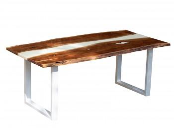 Jídelní stůl z akátového dřeva Sebatik