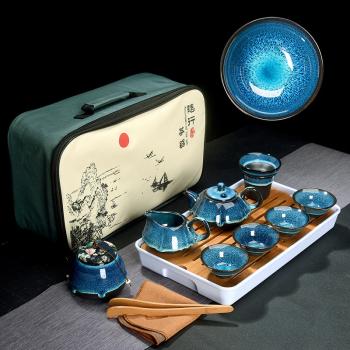 Čajová sada japonského porcelánu
