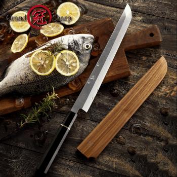 """Japonský šéfkuchařský nůž Sakimaru 10.6"""" Grand Sharp"""