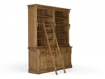 Knihovna z recyklovaného Taeku Kent