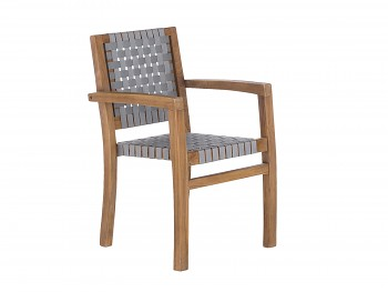 Sada 4 zahradních židlí z recyklovaného Taeku Kent
