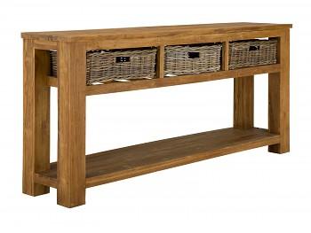 Konzolový stolek z recyklovaného Taeku Kent
