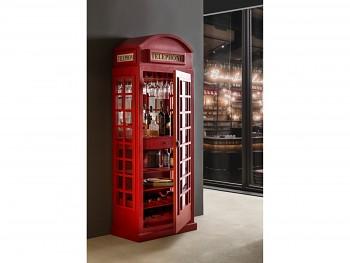 Barová skříňka London Telephone