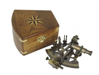Námořní sextant Kelvin and Hughes London 1917