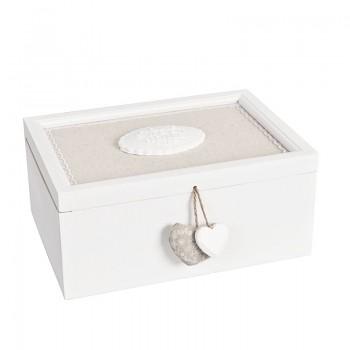 Dřevěná krabička HOME SWEET HOME