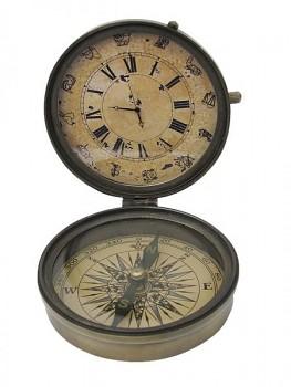 Kompas s hodinami Korsika