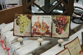 Troj věšáček Wine