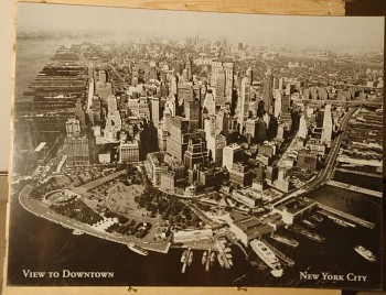 Obraz New York view to downtown reprodukce 60x80