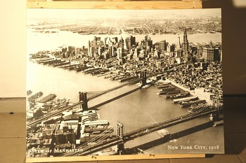Obraz New York City 1928 reprodukce 60x80