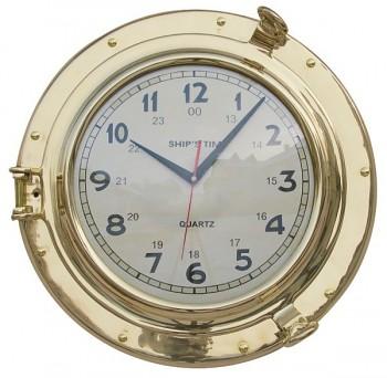 Mosazné námořní hodiny Ship´s Time