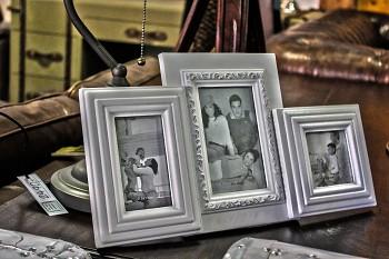 Fotorámeček na tři fotografie Nostalgia